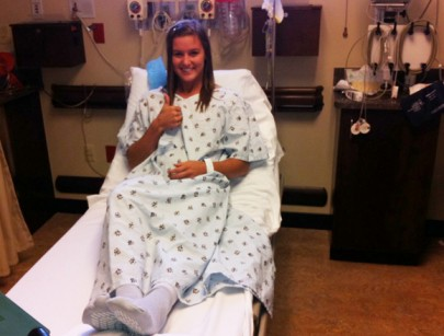 Gate Drops on Alise's Race to Recovery