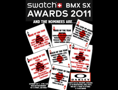 Updated: Swatch SX Award Winners