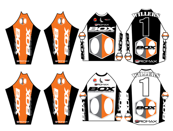 Marc Willers Box Components Jersey