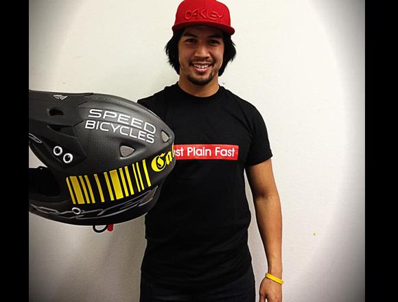 Danny Caluag on Speedco Team
