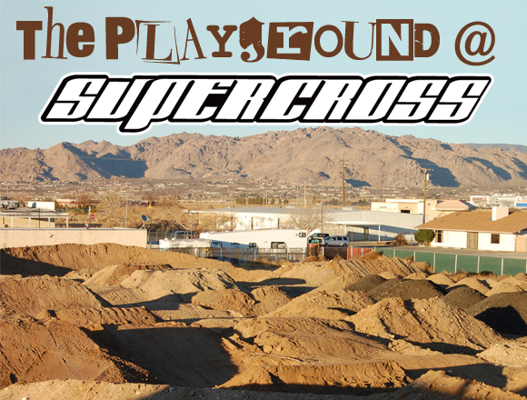 The Playground at Supercross BMX HQ