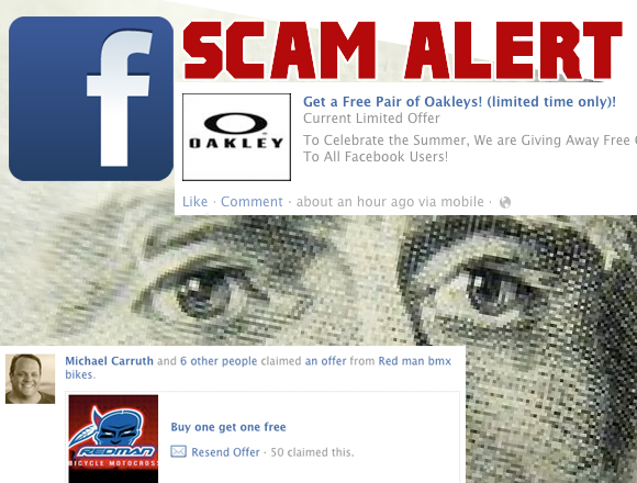 Oakley and Redman Bikes are early victims in offer Scam