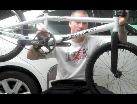 Tony Hoffman is giving away his Haro BMX Race Bike