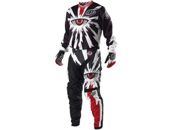 TLD Cyclops Black Uniform Package at jrbicycles.com