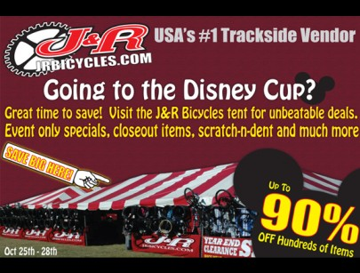 J&R Puts BMX on Sale at Disney Cup