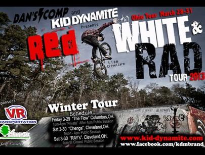 To Do This Weekend: Kid DynaMite Skatepark Tour
