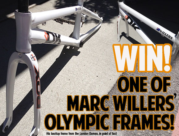 bmxnews.org - Win Marc Willers Backup from London 2012