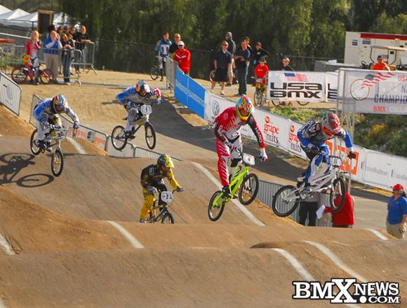 BMX Racing News - Connor Fields defends his national title in Chula Vista