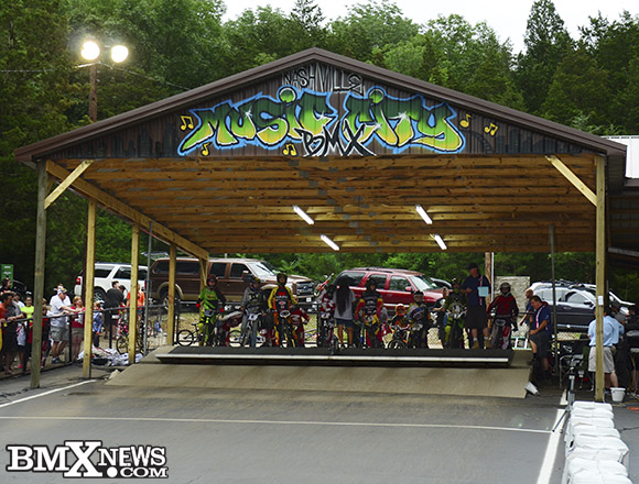 "A ""Dry"" Gate Drop after Elite BMX Racers did not show up to semifinals as part of a pay dispute"