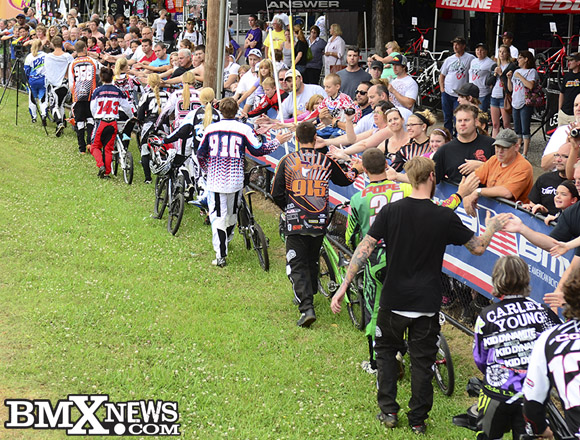 Elite BMX Racers Walk Out on The UCI and USA BMX Music City Nationals