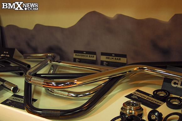 CLiQ Components Helm and Maverick handlebars at Interbike 2013