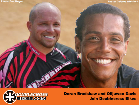 Doran Bradshaw and Olijuwon Davis to Doublecross Bikes