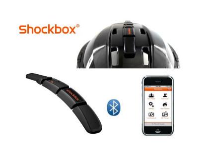 Shockbox Helmet Sensor Looking at BMX