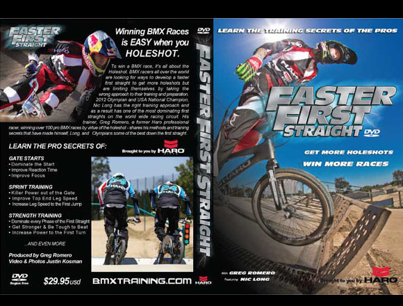 Greg Romero Faster First Straight DVD