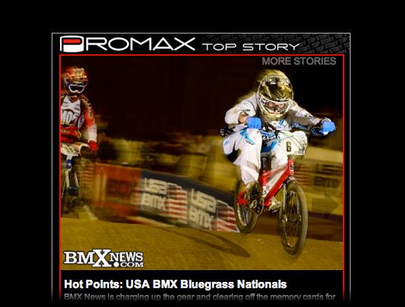 Announcing BMX News Promax Top Story