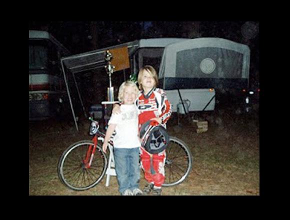 William and Wyatt Parker in 2006