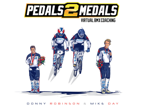 Podcast: Mike Day and Donny Robinson on Pedals 2 Medals