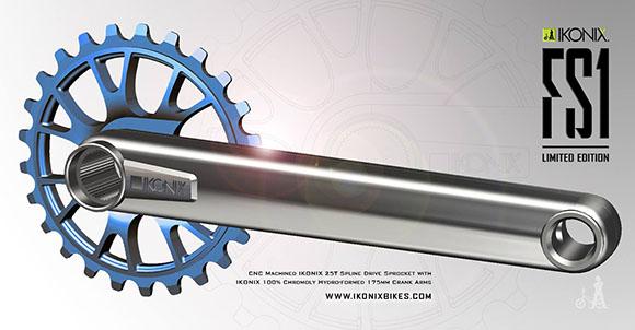 Ikonix FS1 BMX Crank