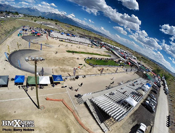 Barry Nobles photo above Rad Canyon the Great Salt Lake Nationals