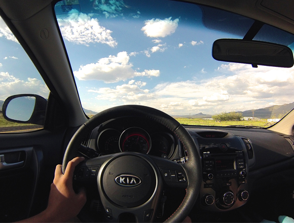 Driving home from the 2014 Great Salt Lake Nationals