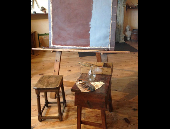 Rembrandt's Studio by Heather Parker