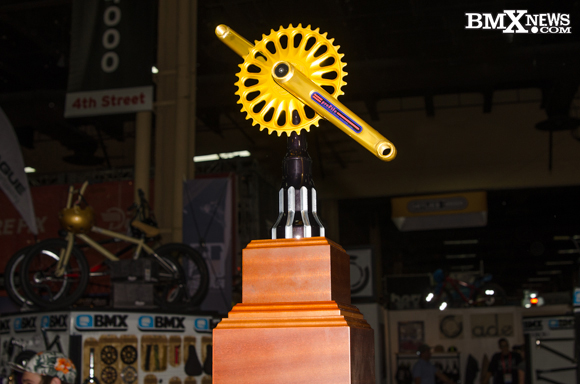 """Profile Racing to produce the """"Golden Crank"""" trophies"""