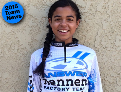 Answer/Rennen Adds Leyna Jones for 015
