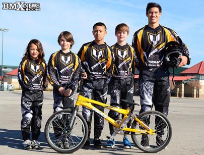2015 Yess BMX USA Factory Team
