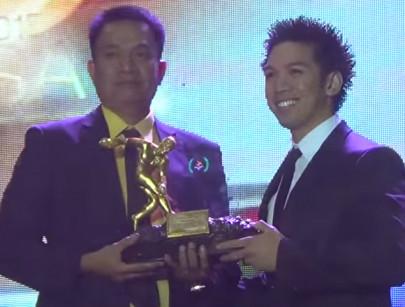 Danny Caluag Wins PSA Athlete of the Year