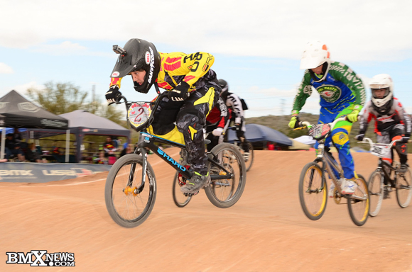 Leo Hile at the 2015 USA BMX Winter Nationals