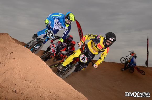 Cameron Moore at the 2015 USA BMX Winter Nationals