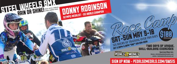 Donny Robinson Clinic at Steel Wheels BMX