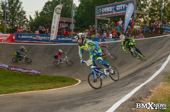 Anna Johnson at the 2015 USA BMX Derby City Nationals