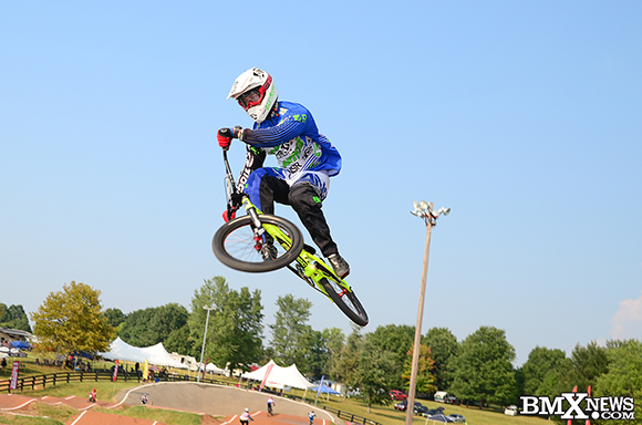 Derik Bergh at the 2015 USA BMX Derby City Nationals