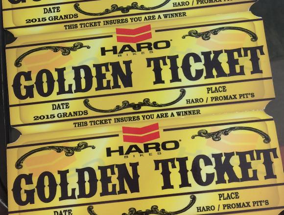 Haro Bikes Golden Ticket