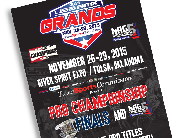 2015 USA BMX Grands Practice Schedule