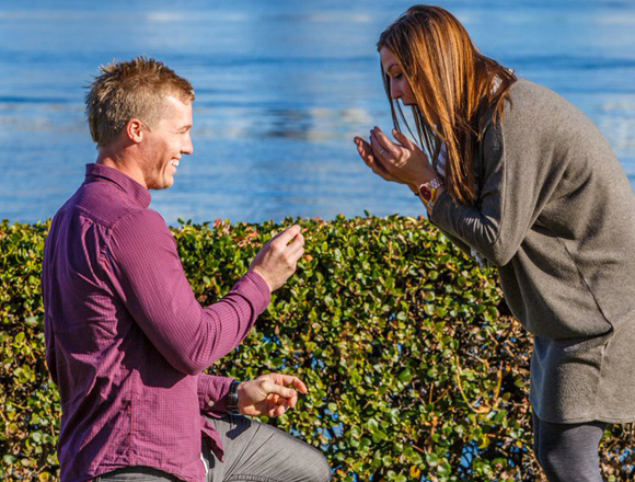 Engaged: Sam Willoughby and Alise Post