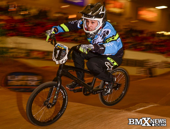 Sophia Foresta at the 2016 USA BMX Silver Dollar Nationals