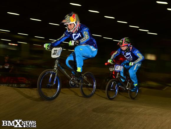 Joris Daudet and Connor Fields at the 2015 Grands