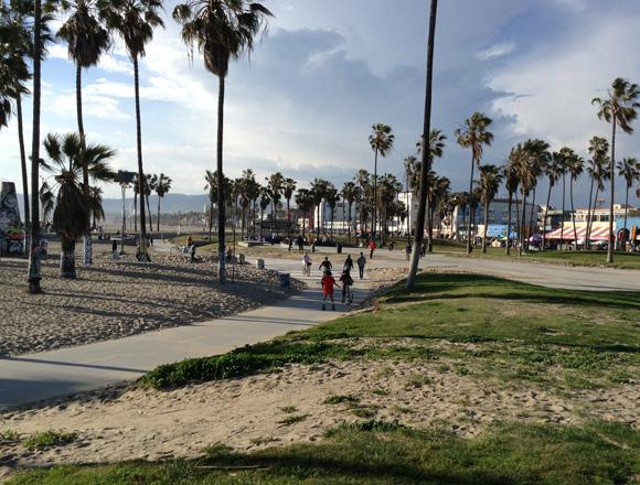 Kye Affoo at Venice Beach