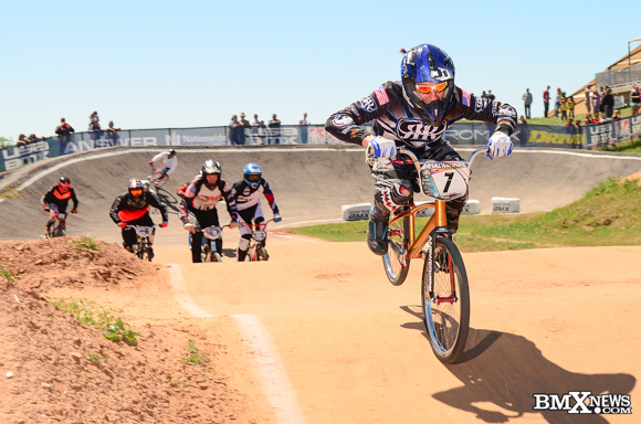 Oldskool Sloan at the 2016 USA BMX Lone Star Nationals