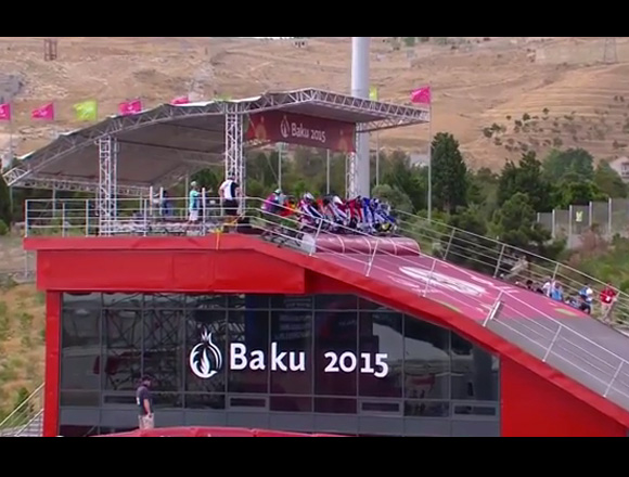 Baku, Azerbaijan may be the site of the 2018 UCI BMX Worlds
