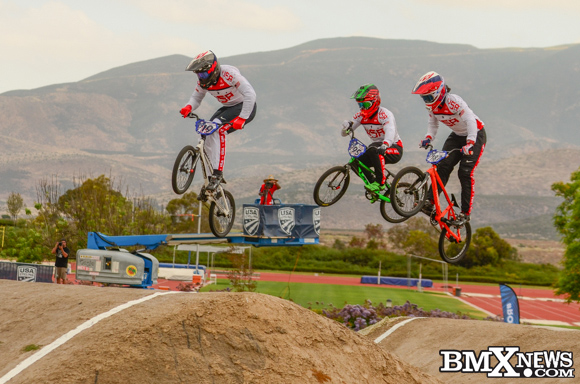 Justin Posey at the 2016 US Olympic BMX Trials