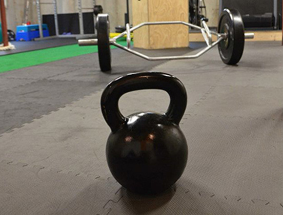 Kettle Bell and Trap Bar