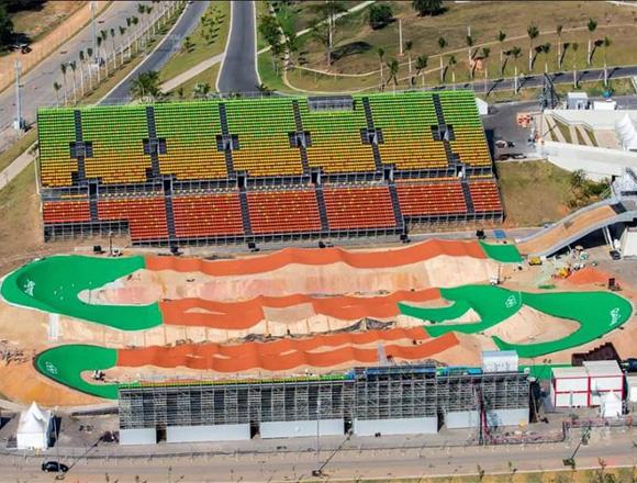Rio BMX Air and Stream Times