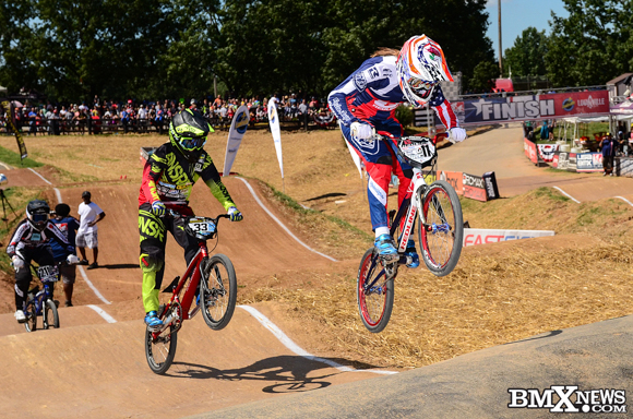 Alise Post at the  2016 USA BMX Derby City Nationals