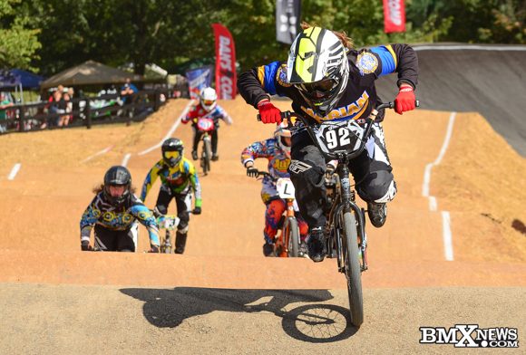 Bailee Enlow at the  2016 USA BMX Derby City Nationals