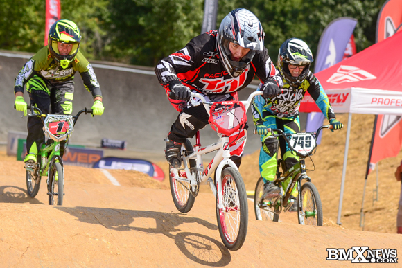 Monica Kelly at the 2016 USA BMX Derby City Nationals