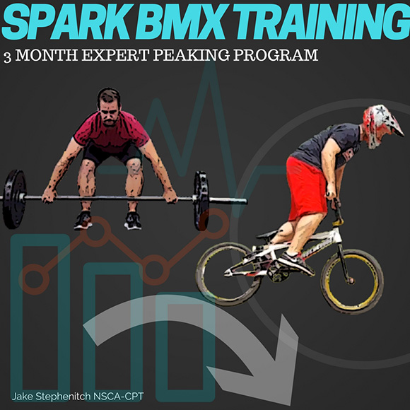 Spark BMX Training Three-Month Expert Peaking Program