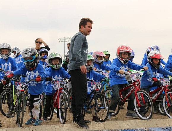 Podcast on the BMX Racing League